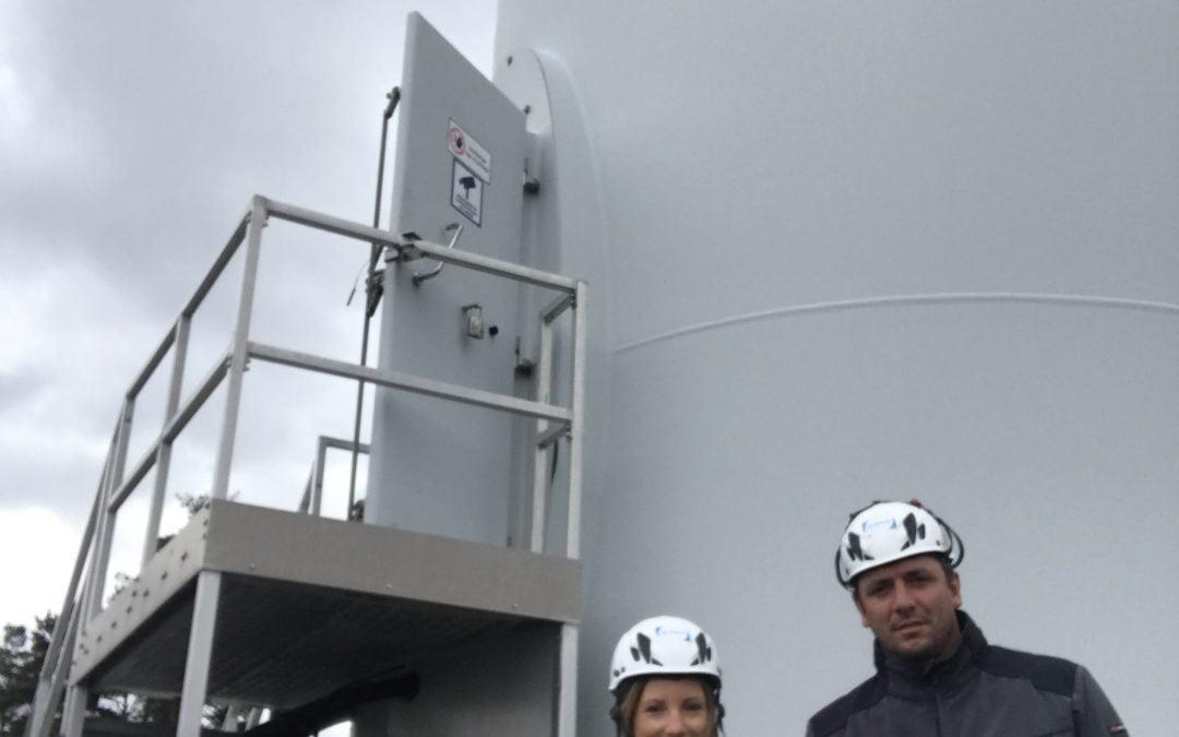 TSR Wind en Suecia