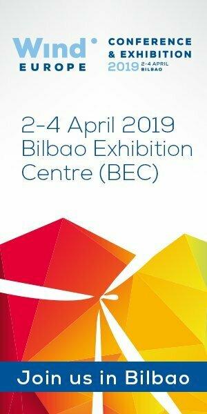 TSR Wind en la Feria Wind Europe 2019 en Bilbao.